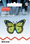 PRYM Aufbügel Applikation Schmetterling schwarz grau