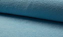 Baumwoll Frottee / Bademantel Stoff 150cm breit hellblau