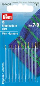 PRYM Stopfnadeln lang ST 3-9 silberfarbig