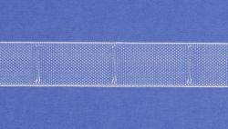 Gardinen Raffrolloband transparent 22mm breit