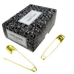 19mm Sicherheitsnadeln 1000St. gold