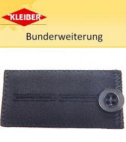 Kleiber Bunderweiterung mit Knopf schwarz