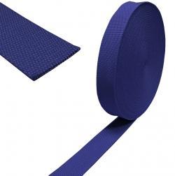 Baumwoll Taschengurt Gurtband 38mm dunkelblau