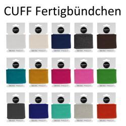 Cuff Poppy - Fertigbündchen Uni Strickbund