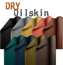Dry Oilskin Stoff - gewachste Baumwolle Meterware