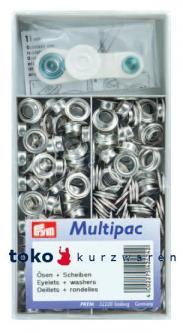 PRYM Ösen Multipack 11mm Silber 120St.