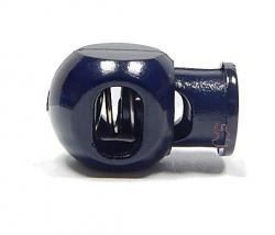 Kordelstopper Cube 1-Loch / dunkelblau