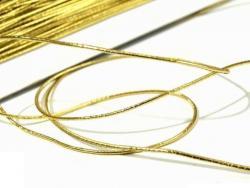 Elastic-Kordel Gummikordel 1,3mm gold