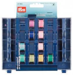 1 Spulendose PRYM Spulenbox für 32 Spulen