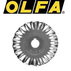 OLFA Ersatzklinge Zackenklinge 45mm