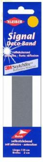 Kleiber Signalband reflektierend Sicherheitsband silber