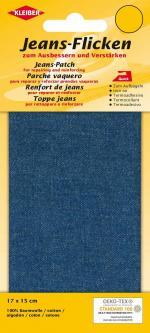 Kleiber Jeans Aufbügel Flicken 17x15cm jeansblau 839 - jeansblau