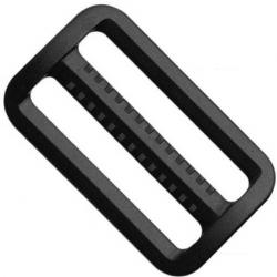 Schieber Gurtversteller 25mm schwarz