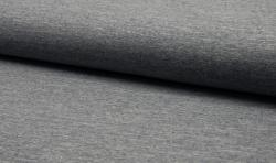Baumwoll Jogging Sweatshirt Stoff - dunkelblau mellange