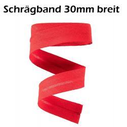 1 Rolle 25m - Baumwoll Schrägband 60/30