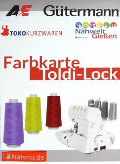 Gütermann Toldi Nähgarn & Toldilock Overlockgarn Farbkarn GRATIS