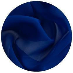 feiner weichfliesender Chiffon Stoff dunkelblau
