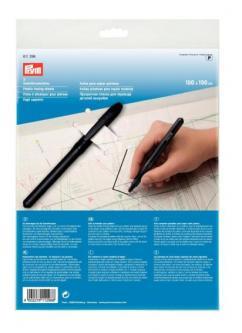 1 Prym Schnittmuster Folie mit Stift