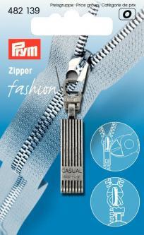 PRYM Fashion-Zipper Casual altsilber