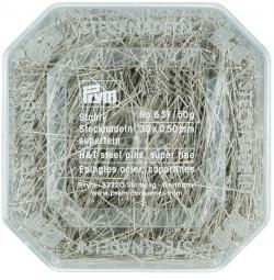 PRYM Stecknadeln Superfein 0,50 x 30 mm 50g