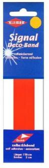 Kleiber Signalband reflektierend Sicherheitsband orange