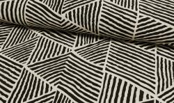 Bedruckter Baumwoll Canvas Meterware Stoff Zebra Print