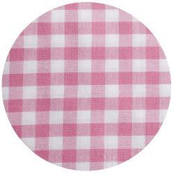 2mm Baumwollstoff kleine vichy Karo rosa