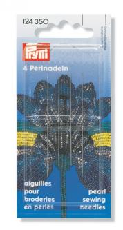PRYM Perlnadeln ST 10/12 0,45x55/0,40x50mm silberfarbig