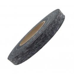 Vlies Kantenband Fadenverstärkt 10mm schwarz 100m Rolle
