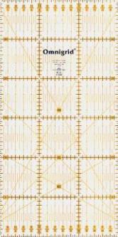 PRYM Universal-Lineal 15 x 30 cm Omnigrid für Patchwork & Quilt