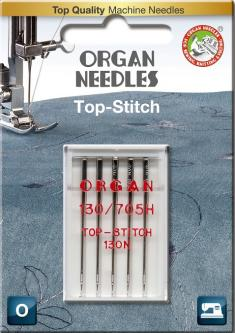 Organ Nähmaschinennadeln Top Stitch 80er