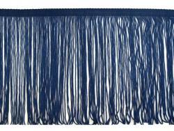 Fransen Borte 20cm lang dunkelblau