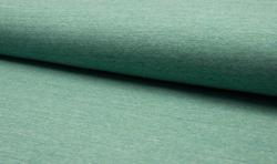 Baumwoll Jogging Sweatshirt Stoff - Grün mellange
