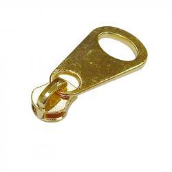 05M Metall Schieber freilaufend gold / Big Drop