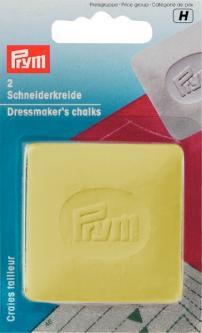PRYM Schneiderkreide-Platten gelb/blau