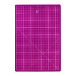 Omnigrid / PRYM Patchwork Schneidematte 45x60 cm Pink