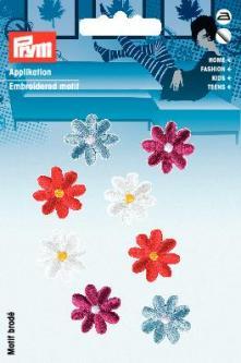 PRYM Applikation selbstkl./aufb. Blumen bunt