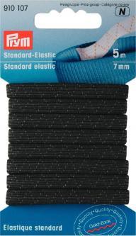 PRYM Standard-Elastic 7 mm schwarz