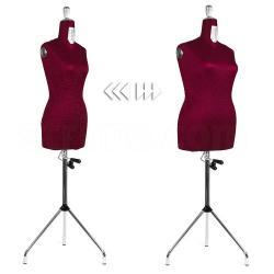 Dressform Premium verstellbare Schneiderpuppe 36-48