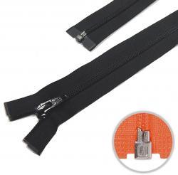 YKK Spiral Kunststoff Reißverschluss teilbar schwarz - 580