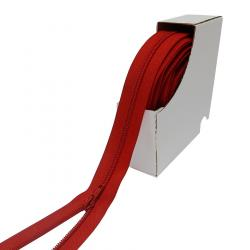 3mm YKK Bettwäsche endlos Reißverschluss rot