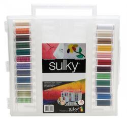 Sulky Slim Line - Nähgarn Aufbewahrungsbox - Garn Box für 104 Snap Spulen