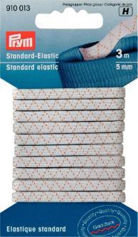 PRYM Gummiband SB - Standard Elastic 5mm / weiß