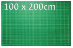 XXXL Patchwork Schneidematte 100 x 200cm grün
