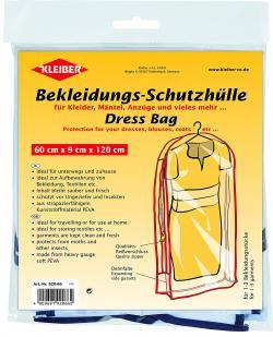 Bekleidungs-Schutzhülle für Kleider, Mäntel 60 x 9 x 120 cm