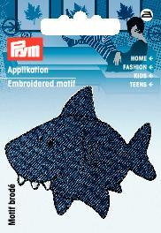 PRYM Applikation Haifisch blau