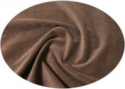 Feincord Baumwoll Stoff 150cm breit dunkelbraun