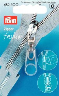 PRYM Fashion-Zipper Gummi transparent