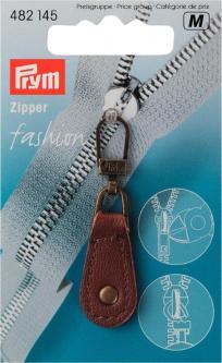 PRYM Fashion-Zipper Leder braun