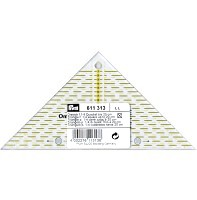PRYM Flottes Dreieck 1/4 Quadrat cm Omnigrid